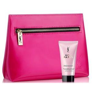 YSL Mon Paris Body Lotion 1.6 oz & Cosmetic Pouch
